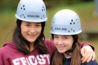 Frost Valley YMCA Girls Climbing Gear