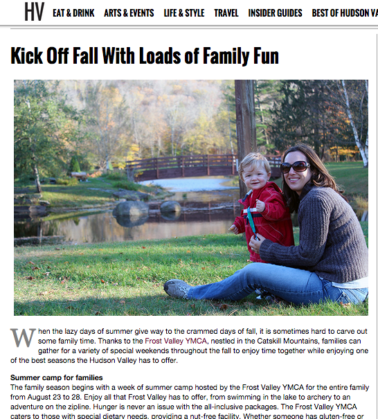 Hudson Valley Magazine – Kick off Fall With Loads of Family Fun