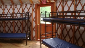 Sequoia Yurt Interior