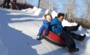 Snow tubing is a winter favorite at Frost Valley!
