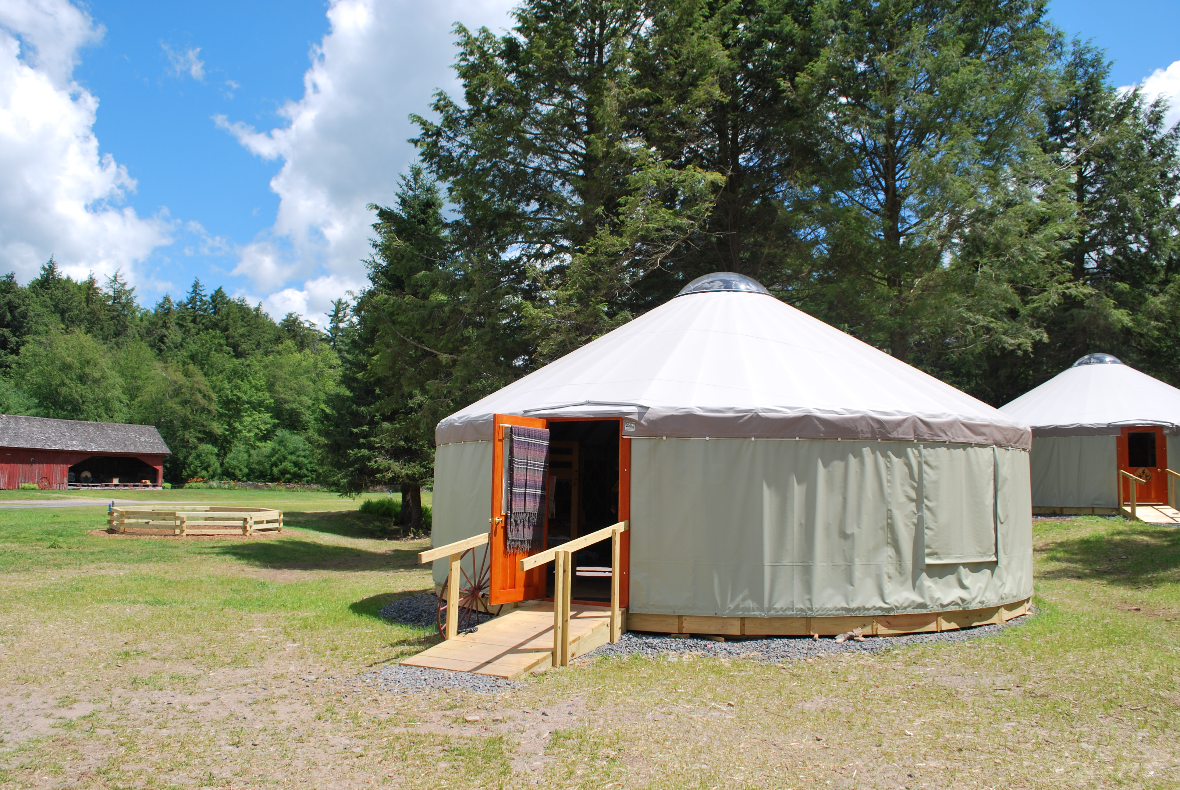 Yurts   Frost Valley YMCA