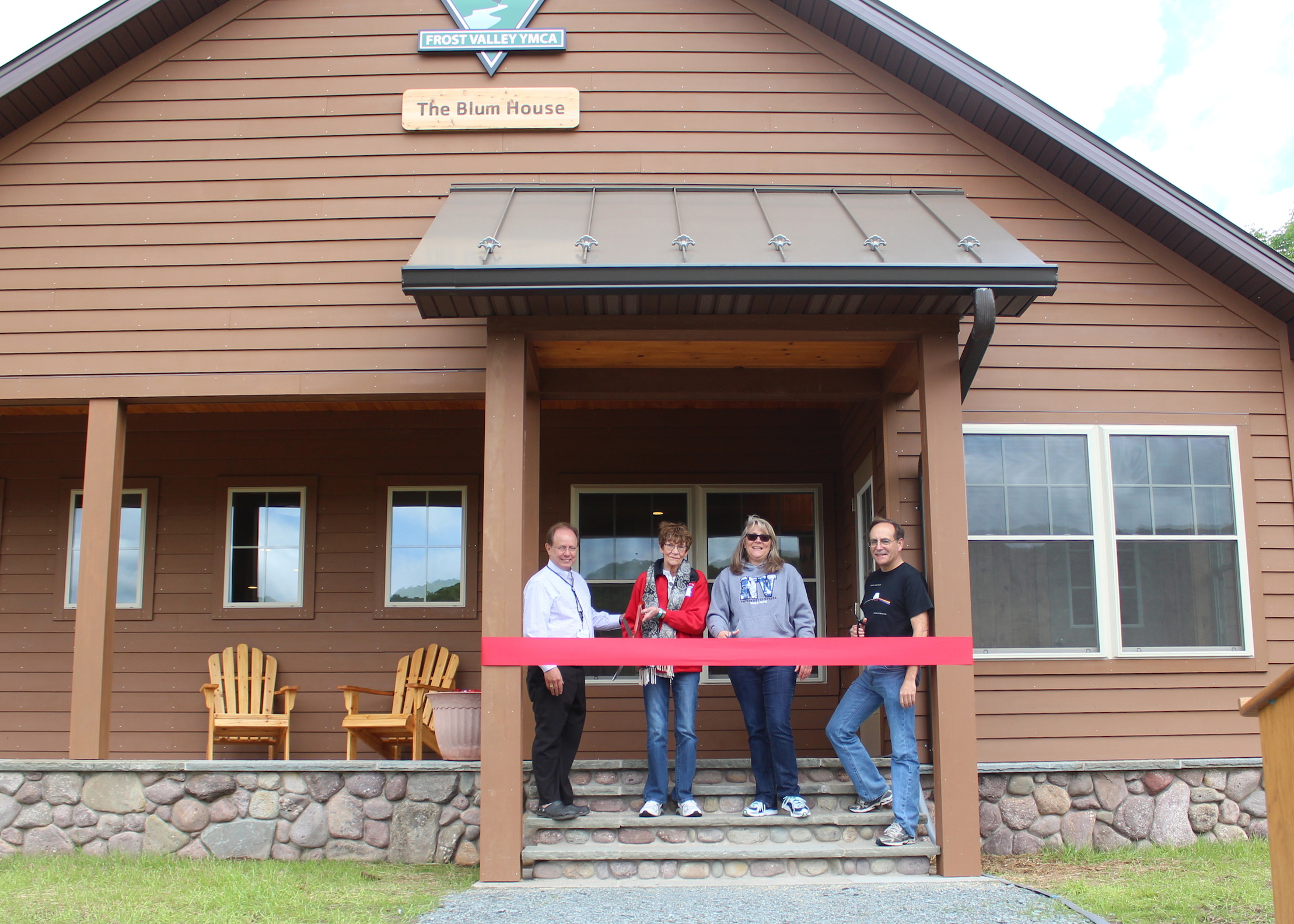 Frost Valley Opens Blum House for Staff | Frost Valley YMCA