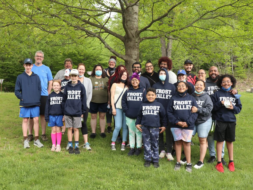 kidney camp family group